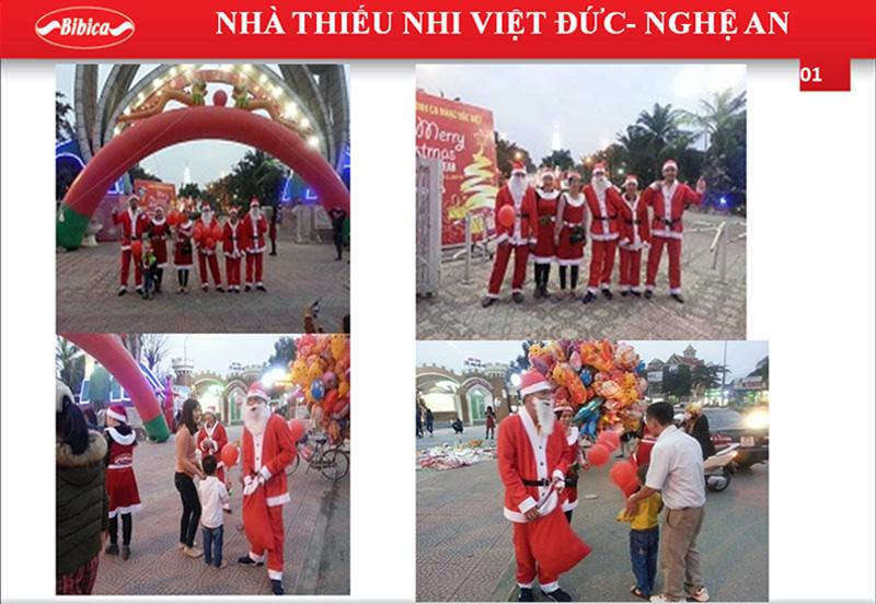 Đón Noel tại Nhà Thiếu Nhi Việt Đức - Nghệ An