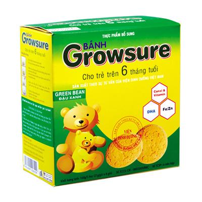 Bánh Growsure Đậu xanh 168 gam