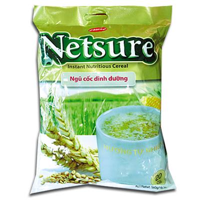 Bột ngũ cốc Netsure hương Tự Nhiên túi 500g