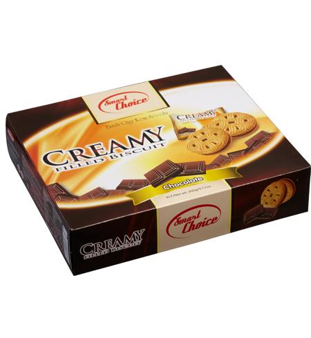 Bánh Quy kem Sôcôla Creamy 260 gam