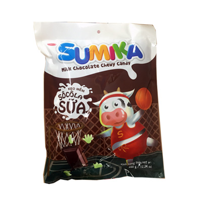Kẹo mềm Sumika Socola sữa túi 70 gam