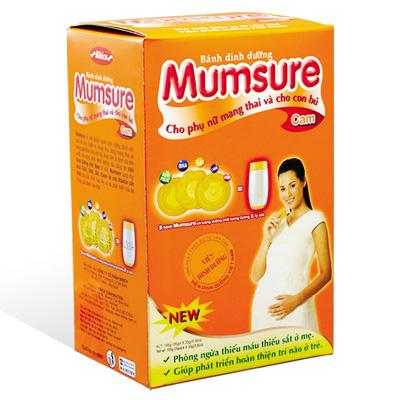 Bánh dinh dưỡng Mumsure hương Cam 165 gam