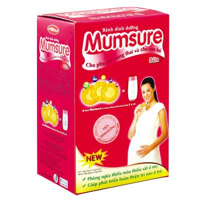 Bánh dinh dưỡng Mumsure Sữa 165 gam