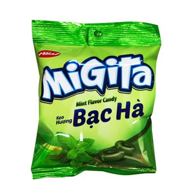 Kẹo cứng Migita Bạc Hà túi 70 gam
