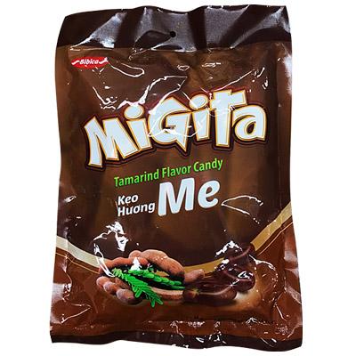Kẹo cứng Migita Me túi 400 gam