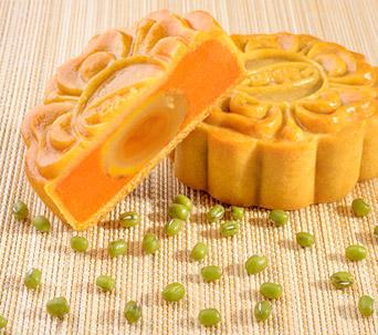 Bánh nướng Dinh dưỡng Đậu xanh - Gấc 1 trứng