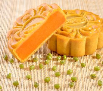Bánh nướng Dinh dưỡng Đậu xanh - Gấc 0 trứng 150 gam