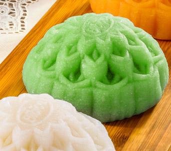 Bánh dẽo Dinh dưỡng Đậu xanh - Lá dứa 0 trứng 180 gam