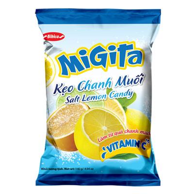 Kẹo chanh muối Migita 140 gam