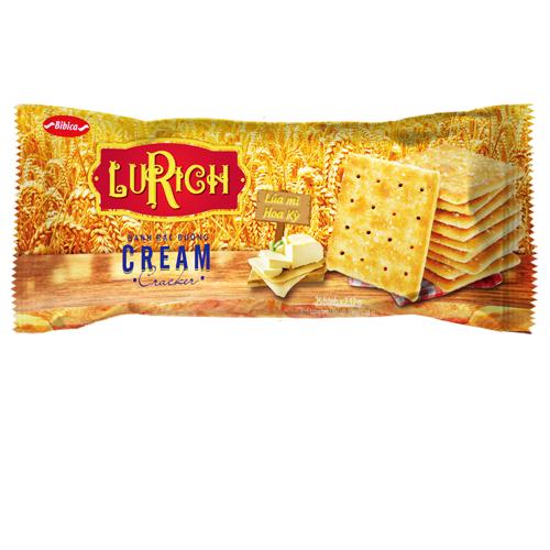 Bánh Cracker rắc đường Lurich khay 178 gam