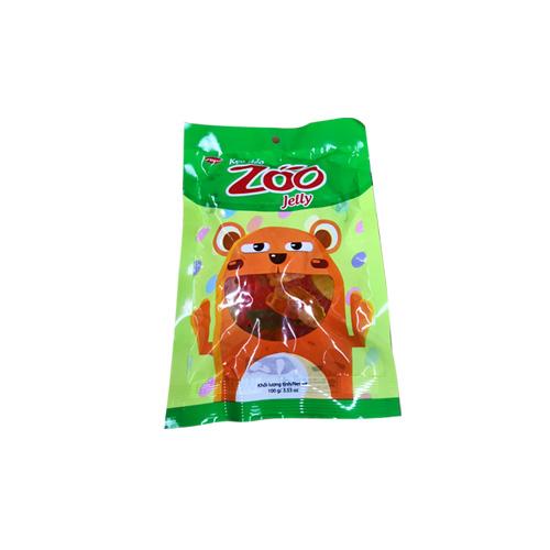 Kẹo dẻo áo dầu Zoo túi 16 gam