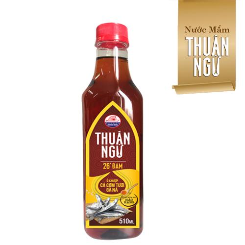 Nước Mắm Thuận Ngư 26 độ đạm chai 510ml
