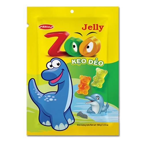 Kẹo dẻo Zoo áo dầu túi 100 gam